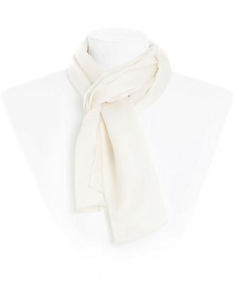 solid oblong silk scarf
