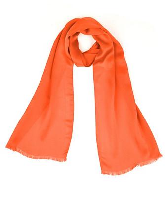 solid silk oblong scarf