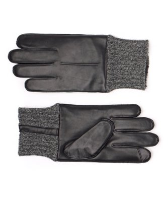 men's echo touch knit cuff glove