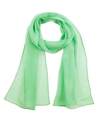 silk chiffon oblong scarf