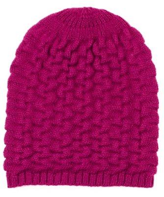 braid stitch slouchy hat