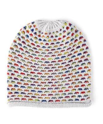 ombr? honeycomb hat