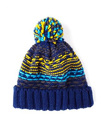 float stitch pom hat
