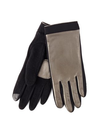 basic echo touch superfit leather glove
