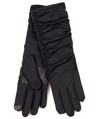 echo touch long rouched superfit glove