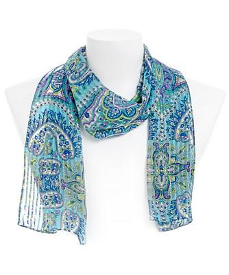arabian market paisley scarf