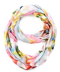 ikat floral loop