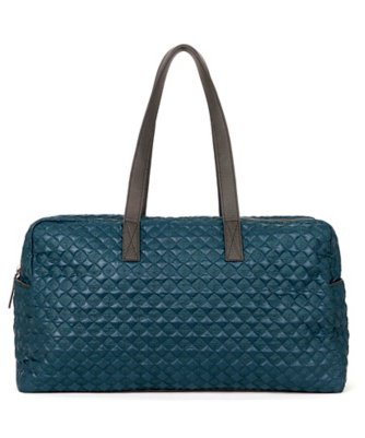 quilted nylon bleecker bag