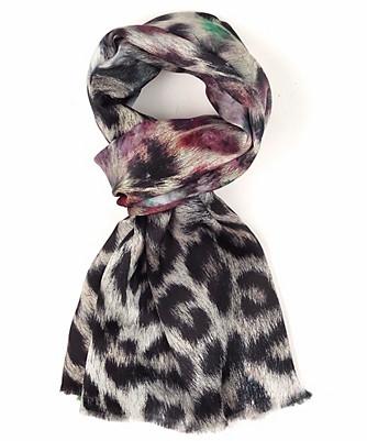 artist's leopard tubular wrap