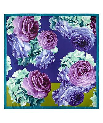 floral colorblock