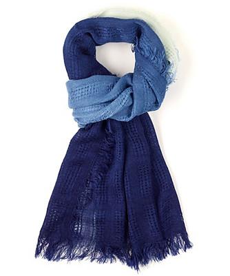 open weave ombre wrap