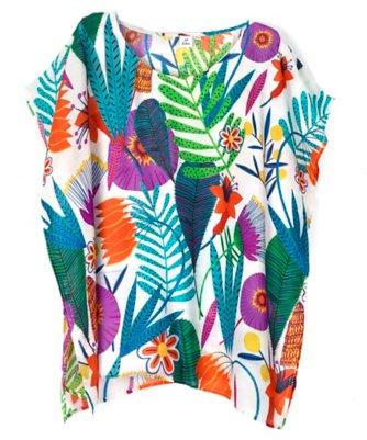 tropicalia floral olivia t-shirt