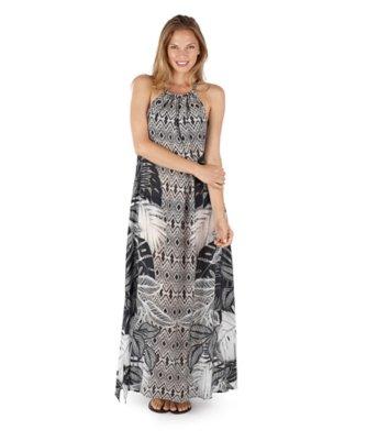 tahitian palm jessica dress