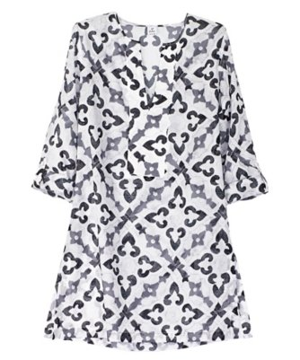 tropic medallion dorothy tunic