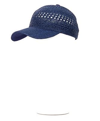 handwoven baseball hat