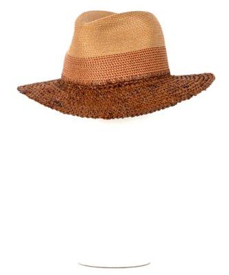 colorblock fedora hat