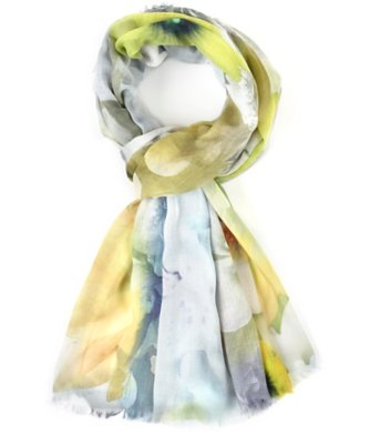 floral explosion scarf