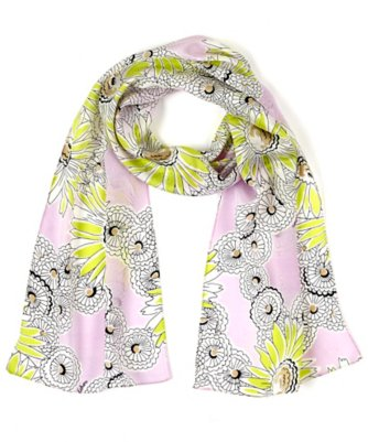 fields of daisies scarf