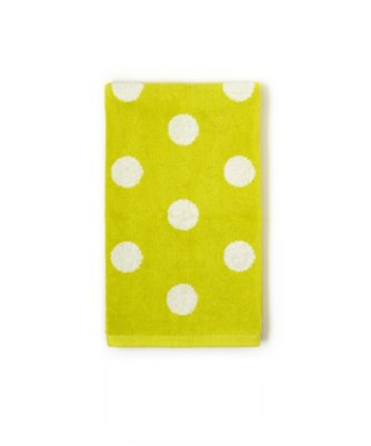 dottie hand towel in limeade