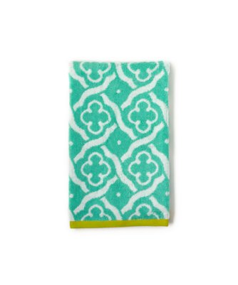 troy hand towel in mint