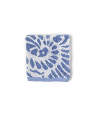 marrakesh wash cloth in classic blue