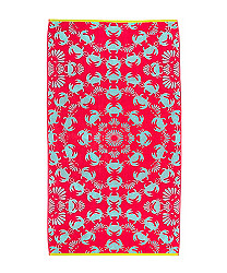 Crab Shanty Beach Towel at echodesign.com